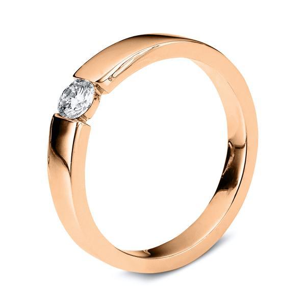 DiamondGroup Ring 14 kt Rotgold - 1B946R455-1