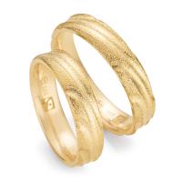 Ruesch Trauringe Gelbgold 585 Fairtrade 33/30260 & 33/30260