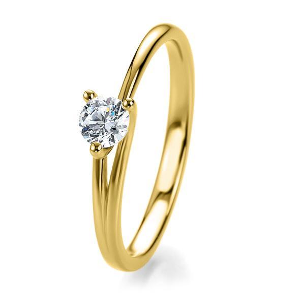 Breuning Bridal Antragsring Gelbgold 41/05302