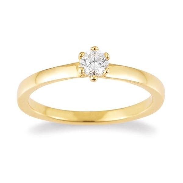 Palido Solitär Ring Gelbgold 585 F1311G