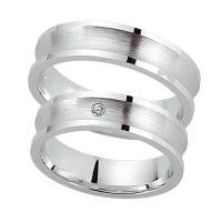 Schwarz Trauringe Partnerringe Silber 925 Zirkonia SW925-049