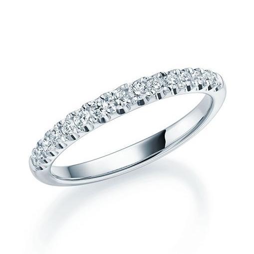 Rubin Memoire Ring Platin Brillant