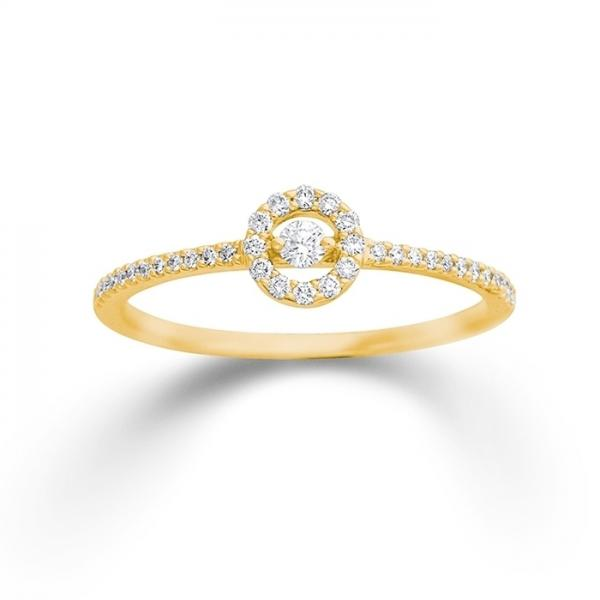 Palido Ring Gelbgold 750 My Diary S5445G
