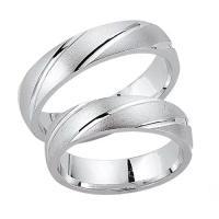 Schwarz Trauringe / Partnerringe Silber 925 SW925-018