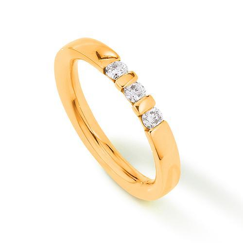 Palido Memoire Ring Gelbgold 585 Brillant K10819G