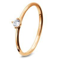 Breuning Verlobungsring aus Rotgold - 41/05278