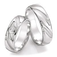 Ruesch Trauringe Silber 925 55/30090 & 55/30100