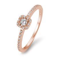 Halo Diamantring Rotgold 585 Breuning 41/05802