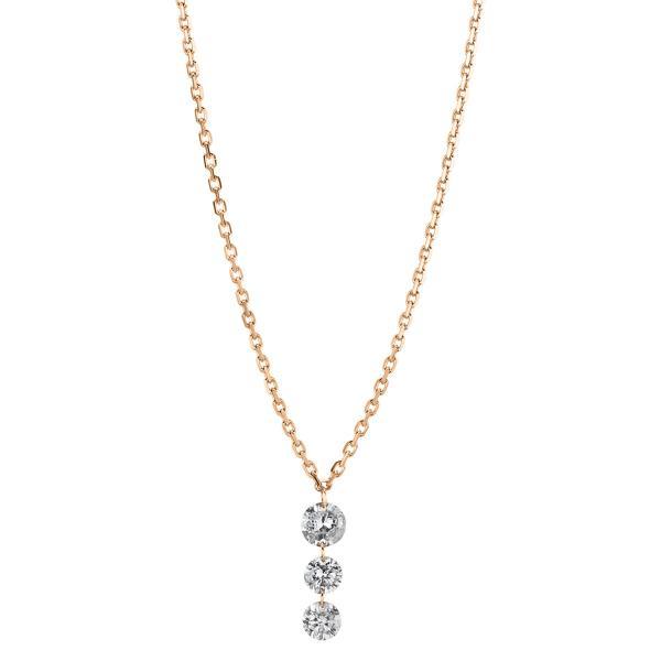 DiamondGroup Diamantcollier Collier 18 kt Rotgold - 4A356R8-1