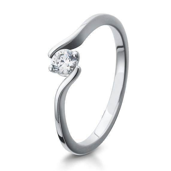 Breuning Verlobungsring 41/05297 aus Sterlingsilber