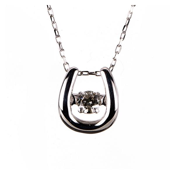 DiamondGroup Diamantcollier Collier 10 kt Weißgold, Zwischenöse 36 cm - 4A109W0-2