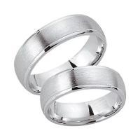 Schwarz Trauringe Partnerringe Silber 925 SW925-012