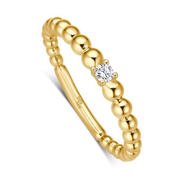 bella luce Kügelchen Ring Pallina Gelbgold EH4503