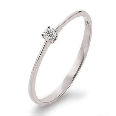 Palido First Love Ring Weißgold 585 Brillant Solitär K11019W