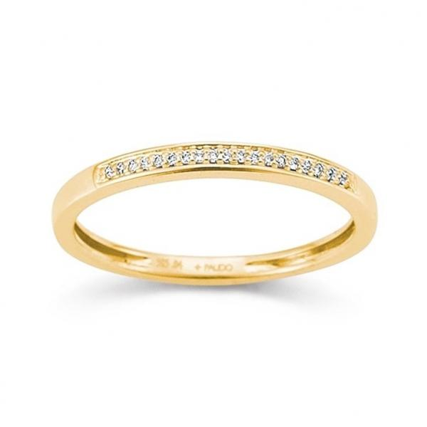 First Love Memoire Ring Gelbgold 585 Palido K10986