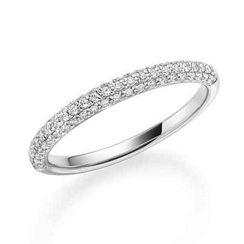 Rubin 1326 Diamantring Weißgold 750