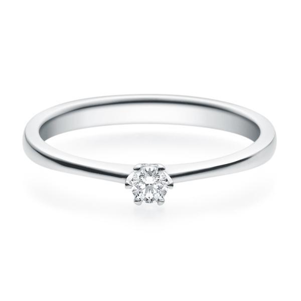 Rubin Verlobungsring 18016 Silber 925 Solitär Ring 0,100 ct.
