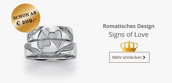 Signs of Love Ringe - Collection Ruesch