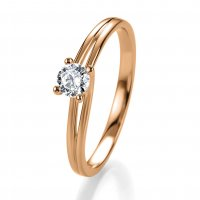 Breuning Verlobungsring Rotgold Bridal 41/05305