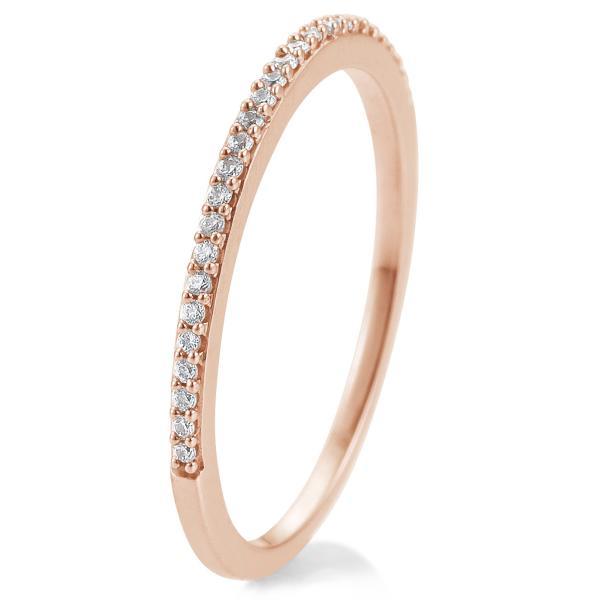 Breuning Memoire Memory Ring Rotgold 585 Brillant 41/86617