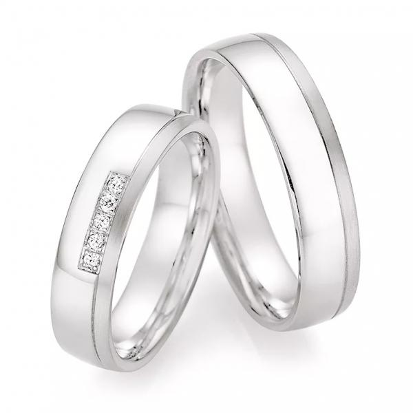 Ruesch Trauringe Silber 925 55/30010 & 55/30020