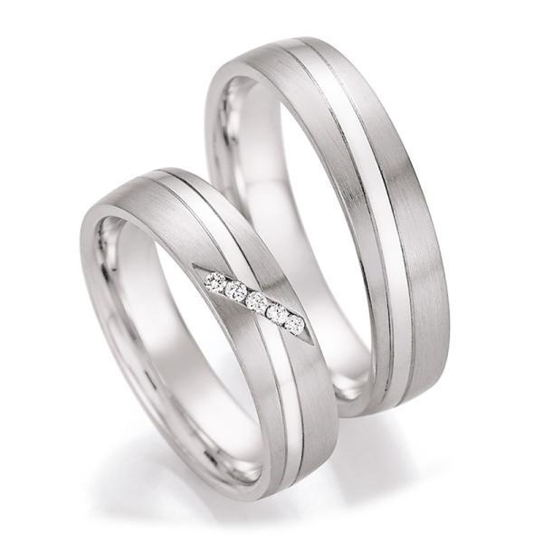 Ruesch Trauringe Silber 925 55/30030 & 55/30040
